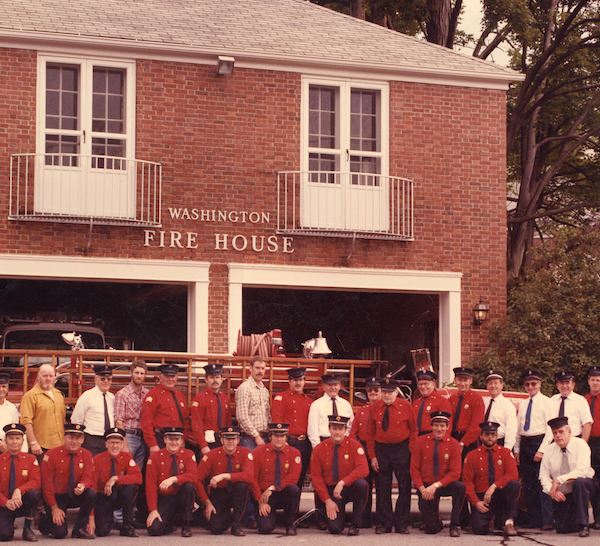 1980s Washington CT Fire Department